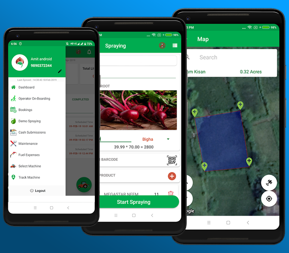 Farm Automation Mobile App Development